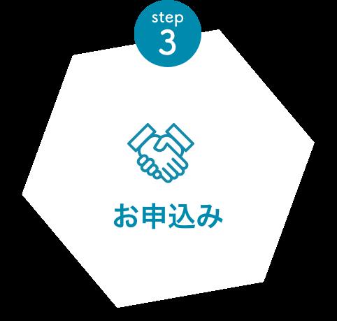 STEP3 お申込み